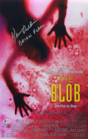 """Kevin Dillon Signed """"The Blob"""" 11x17 Movie Poster Inscribed """"Brian Flagg"""" (Beckett Hologram) at PristineAuction.com"""