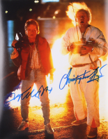 "Michael J. Fox & Christopher Lloyd Signed ""Back to The Future"" 11x14 Photo (AutographCOA LOA) at PristineAuction.com"