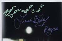 "Eileen Dietz  & Linda Blair Signed ""The Exorcist"" 11x17 Photo Inscribed ""Pazuzu It Burns"" & ""Regan"" (Beckett Hologram) at PristineAuction.com"