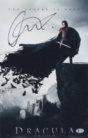 "Luke Evans Signed ""Dracula Untold"" 11x17 Photo (Beckett COA) at PristineAuction.com"