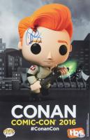 """Conan O'Brien Signed """"Comic-Con 2016"""" 11x17 Photo (Beckett COA) at PristineAuction.com"""