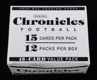 2020 Panini Chronicles Football Box with (12) Cello Packs at PristineAuction.com