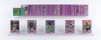 1989 Score Supplemental Complete Set of (110) Football Cards With #431S Rodney Peete RC, #335S Frank Reich RC, #333S Sterling Sharpe RC, #407S Neil Smith RC, #408S Dermontti Dawson RC at PristineAuction.com