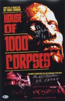 "Walter Phelan & Bill Moseley Signed ""House of 1000 Corpses"" 11x17 Photo Inscribed ""Dr. Satan"" & ""Otis"" (Beckett COA) at PristineAuction.com"