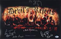 "Lew Temple, Danny Trejo, & Bill Moseley Signed ""The Devil's Rejects"" 11x17 Movie Poster Photo Inscribed ""Adam Banjo"" ""Rondo"" & ""Otis"" (Beckett COA) at PristineAuction.com"