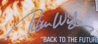 """""""Back to The Future"""" 16x20 Photo Signed By (10) With Michael J. Fox, Christopher Lloyd, Lea Thompson, Tom Wilson, Claudia Wells, Donald Fullilove With Inscriptions (AutographCOA COA) at PristineAuction.com"""