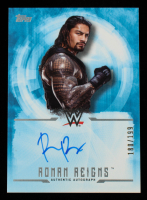 Roman Reigns 2017 Topps WWE Undisputed Autographs #UARR #180/199 at PristineAuction.com