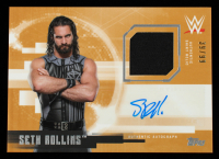 Seth Rollins 2017 Topps WWE Undisputed Autographed Relics #UARSR #39/99 at PristineAuction.com