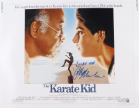 """Ralph Macchio Signed """"The Karate Kid"""" 16x20 Photo Inscribed """"Wax On"""" (AutographCOA Hologram) at PristineAuction.com"""