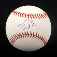 "Jay Bruce Signed OML Baseball Inscribed ""1st Pick '05"" (JSA COA) at PristineAuction.com"
