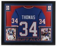 Thurman Thomas Signed 35x43 Custom Framed Jersey Display (Beckett Hologram) at PristineAuction.com