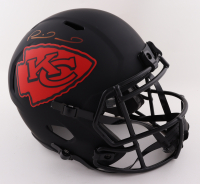 Patrick Mahomes Signed Chiefs Full-Size Eclipse Alternate Speed Helmet (Beckett COA) at PristineAuction.com
