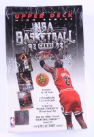1992-93 Upper Deck High Series Basketball Retail Box with (36) Packs at PristineAuction.com