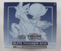 Pokemon Chilling Reign Elite Trainer Box with (8) Booster Packs at PristineAuction.com