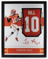 Tyreek Hill Signed 35x43 Custom Framed Jersey (JSA Hologram) (See Description) at PristineAuction.com