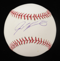 Ivan Rodriguez Signed OML Baseball (JSA COA) at PristineAuction.com