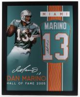 Dan Marino Signed 35x43 Custom Framed Jersey (JSA Hologram) at PristineAuction.com