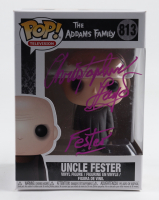 """Christopher Lloyd Signed """"The Addams Family"""" #813 Uncle Fester Funko Pop! Vinyl Figure Inscribed """"Fester"""" (AutographCOA COA) at PristineAuction.com"""