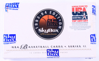 1993-94 Skybox Premium Series 2 Basketball Hobby Box with (36) Packs at PristineAuction.com