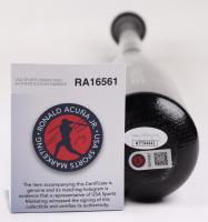 Ronald Acuna Jr. Signed Rawlings Pro Baseball Bat (JSA COA & USA Sports Marketing COA) at PristineAuction.com