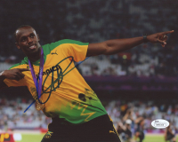 Usain Bolt Signed 8x10 Photo (JSA Hologram) at PristineAuction.com