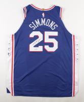 Ben Simmons Signed 76ers Jersey (PSA Hologram) (See Description) at PristineAuction.com