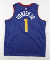 Michael Porter Jr. Signed Nuggets Jersey (PSA Hologram) at PristineAuction.com