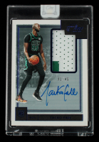 Tacko Fall  2019-20 Panini One and One Premium Rookie Jersey Autographs Blue #13 RC #31/49 at PristineAuction.com