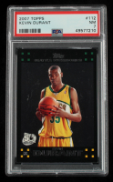 Kevin Durant 2007-08 Topps #112 RC (PSA 7) (See Description) at PristineAuction.com
