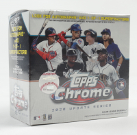 2020 Topps Chrome Update Baseball Mega White Box with (7) Packs (See Description) at PristineAuction.com