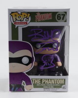 """Billy Zane Signed """"The Phantom"""" #67 The Phantom Funko Pop! Vinyl Figure with Hand Drawn Sketch (AutographCOA COA) at PristineAuction.com"""