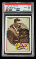 Ted Williams 1992 Upper Deck Williams Heroes #35 (PSA 10) at PristineAuction.com