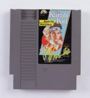 "Ralph Macchio Signed ""The Karate Kid"" Nintendo NES Video Game Cartridge (AutographCOA COA) at PristineAuction.com"