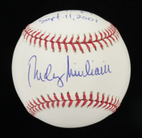 """Rudy Giuliani Signed OML Baseball Inscribed """"Never Forget Sept. 11, 2001"""" (PSA COA) at PristineAuction.com"""