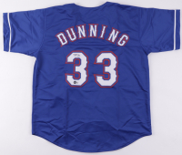 Dane Dunning Signed Jersey (Beckett Hologram) at PristineAuction.com
