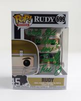 "Rudy Ruettiger Signed ""Rudy"" #699 Rudy Funko Pop! Vinyl Figure Inscribed ""Who's the Wildman Now!"" (Beckett COA) at PristineAuction.com"