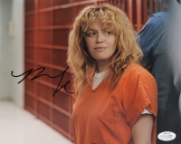 "Natasha Lyonne Signed ""Orange Is The New Black"" 8x10 Photo (AutographCOA COA) (See Description) at PristineAuction.com"