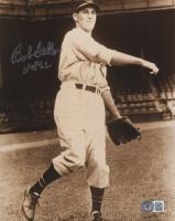 "Bob Feller Signed Indians 8x10 Photo Inscribed ""HOF 62"" (Beckett COA) at PristineAuction.com"