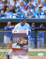 """Mark Grace Signed Cubs 8x10 Photo Inscribed """"Most Hits 90's"""" (JSA COA) at PristineAuction.com"""