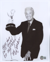 """Bob Barker Signed 8x10 Photo Inscribed """"Have Your Pets Spayed or Neutered!"""" (Beckett COA) at PristineAuction.com"""
