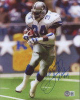 """Herschel Walker Signed Cowboys 8x10 Photo Inscribed """"Best Wishes"""" (Beckett COA) at PristineAuction.com"""