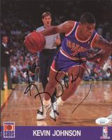 Kevin Johnson Signed Suns 8x10 Photo (JSA COA) at PristineAuction.com