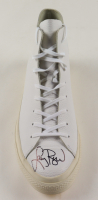 Larry Bird Signed Converse All-Star Leather Basketball Shoe (PSA COA) (See Description) at PristineAuction.com