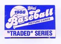 1988 Topps Traded Series Complete Set of (132) Baseball Cards with #2T Juan Agosto, #9T Bret Barberie, #6T Jack Armstrong, #3T Luis Alicea (See Description) at PristineAuction.com
