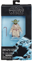 RARE Black Series Star Wars: the Last Jedi Yoda (Force Spirit) HIGHLY COLLECTIBLE Figure at PristineAuction.com