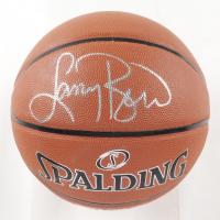 Larry Bird Signed NBA Basketball (PSA COA & Bird Hologram) at PristineAuction.com