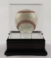 1977 Cardinals Team Signed ONL Baseball Signed By (25) Ted Simmons, Lou Brock, Keith Hernandez, John Denny (PSA LOA) at PristineAuction.com