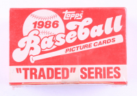 1986 Topps Traded Series Baseball Card Box with (132) Cards (See Description) at PristineAuction.com