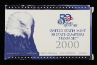 2000 United States Mint State Quarters Proof Set of (5) Coins at PristineAuction.com
