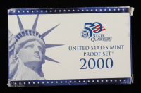 2000 United States Mint State Quarters Proof Set of (10) Coins at PristineAuction.com
